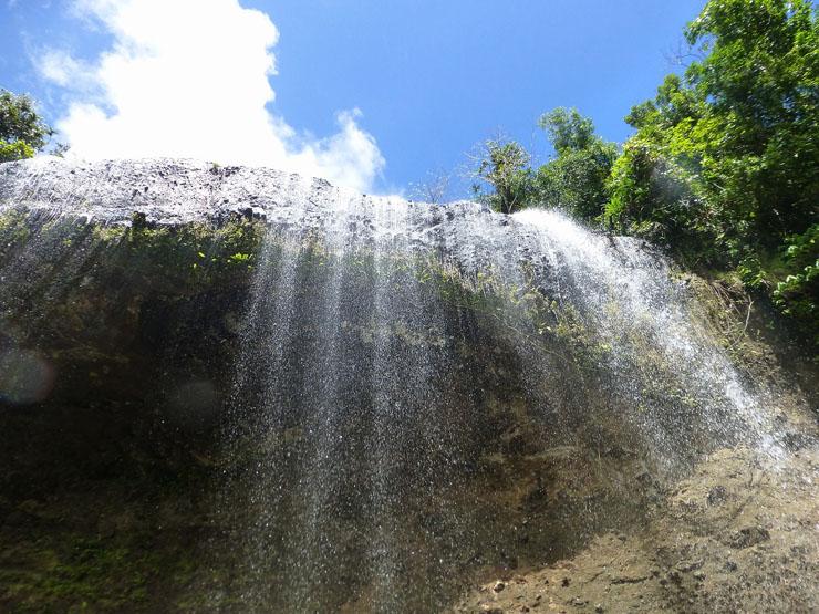 ガラツマオの滝